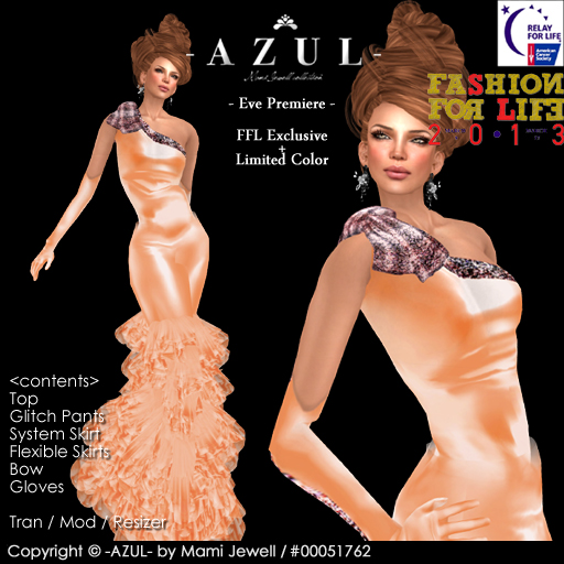-AZUL- Eve Premiere FFL2013Exclusive